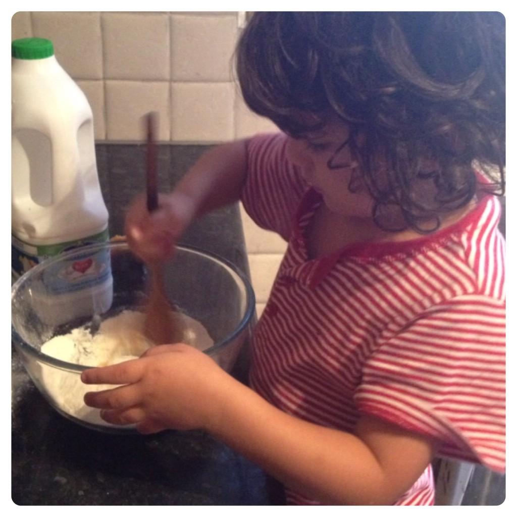Making Pancake Mix