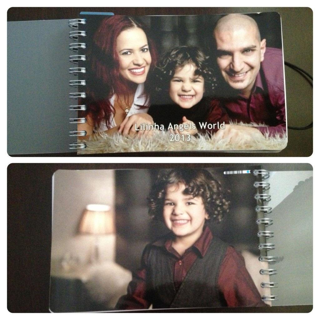 Back and Front of Personal Planner
