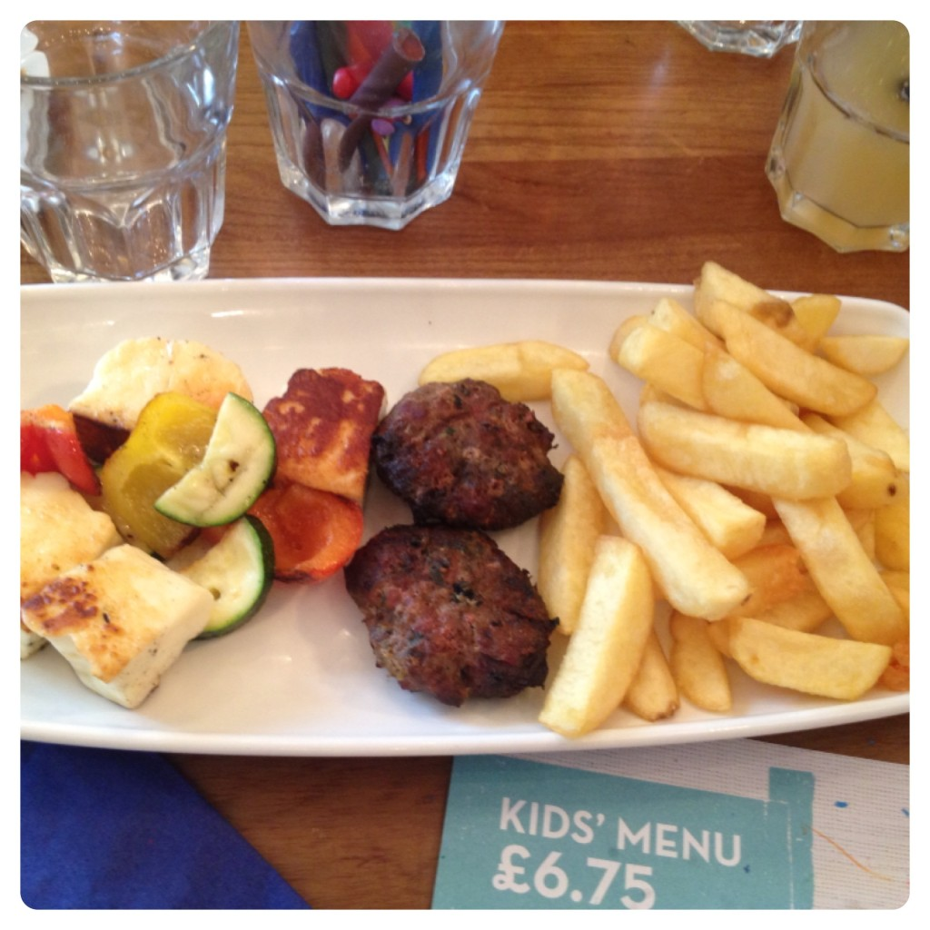 Kids Meal: 3 Mini Meze