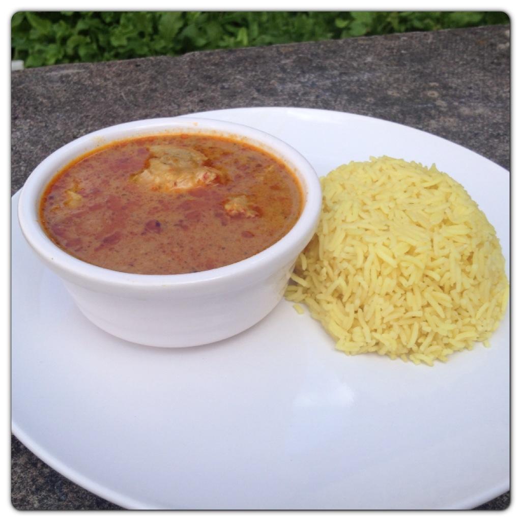 Thai Red Chicken Curry & Rice by Ilumi