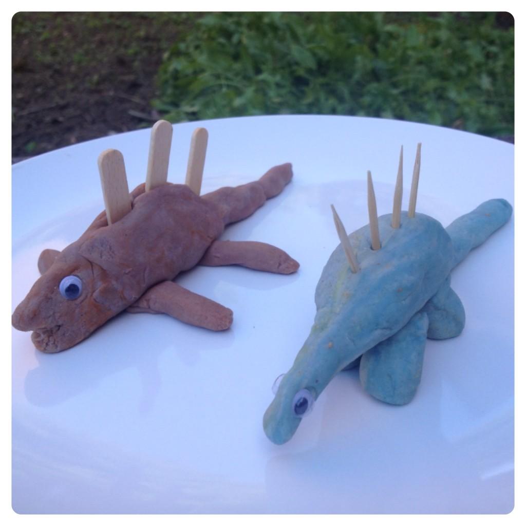 Play-doh Dinosaurs