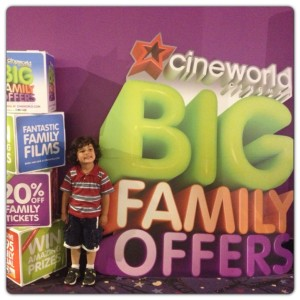 Cineworld Big Family Offers