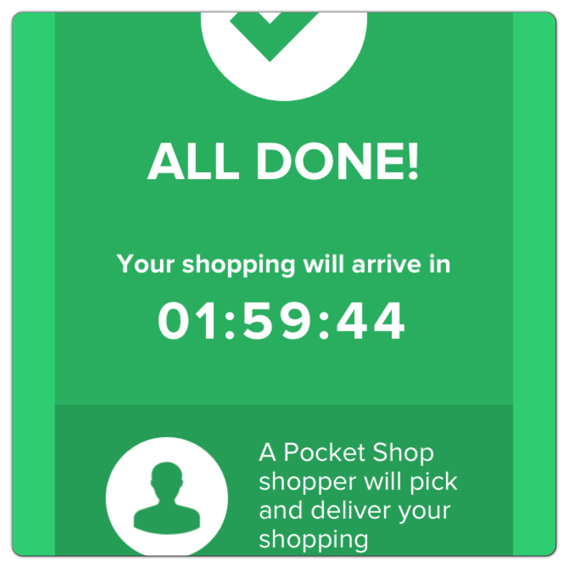 2h Delivery Timer