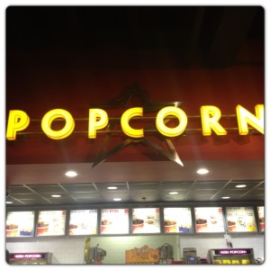 Popcorn and Snacks at Cineworld