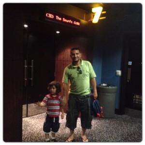 Smurfs 2 at Cineworld
