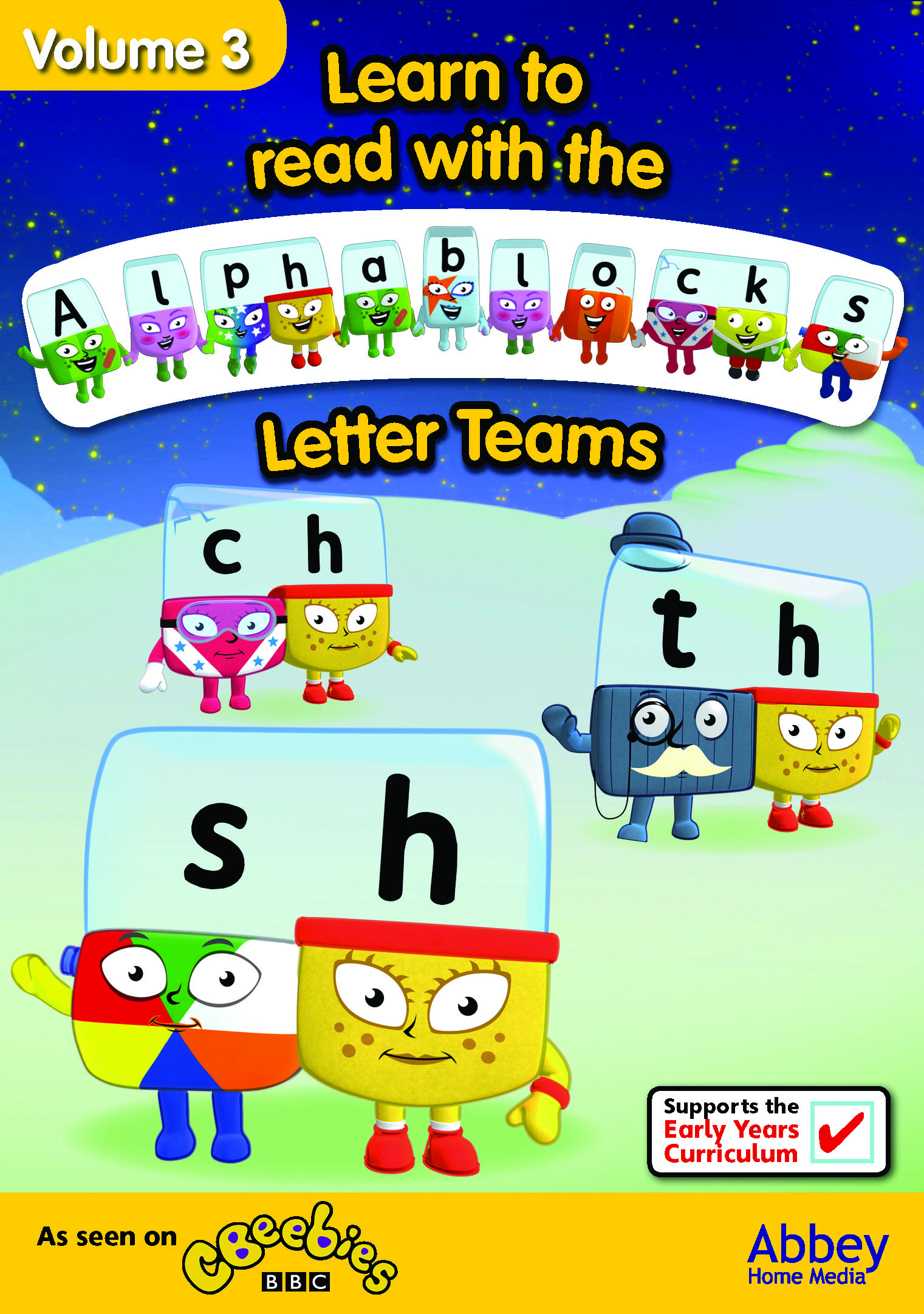 Alphablocks Vol 3