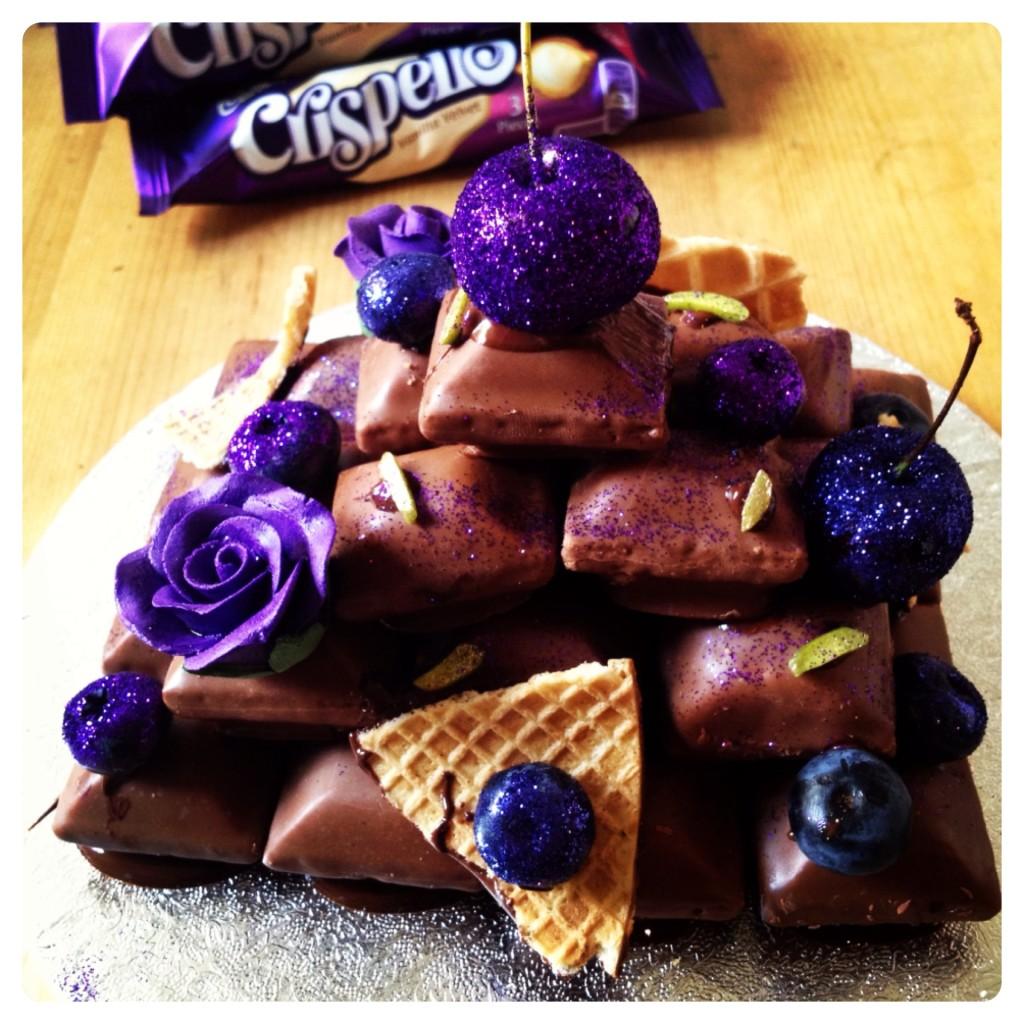 My Very Own Cadbury Crispello Tower