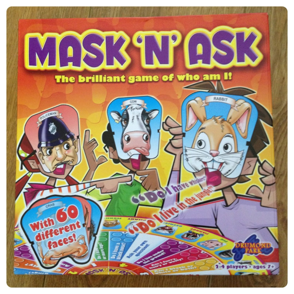 Mask 'n' Ask by Drumond Park