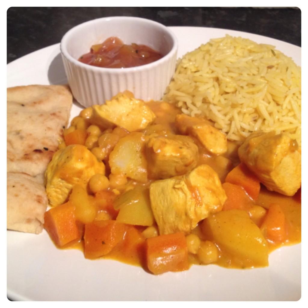 Tonight Chicken Curry