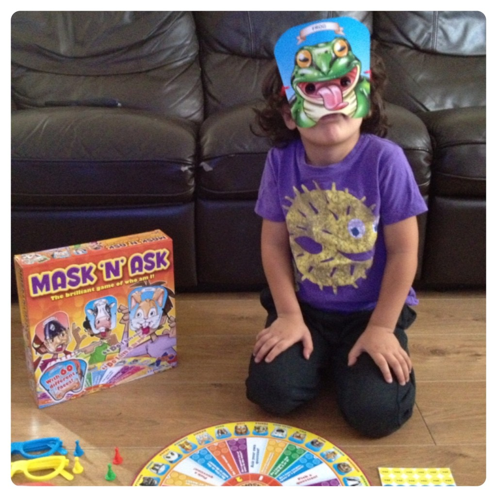 Playing Mask 'n' Ask