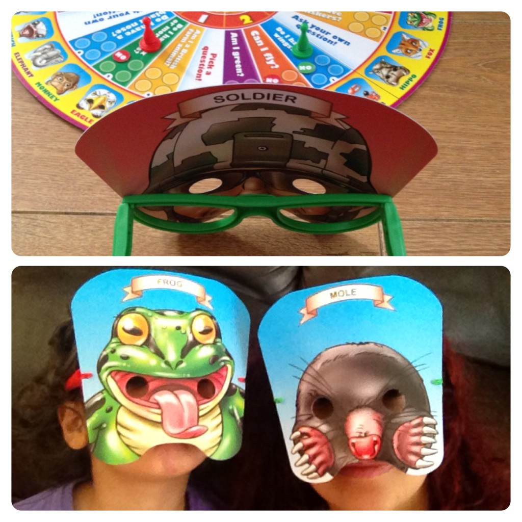 Playing Mask 'n' Ask as Animals