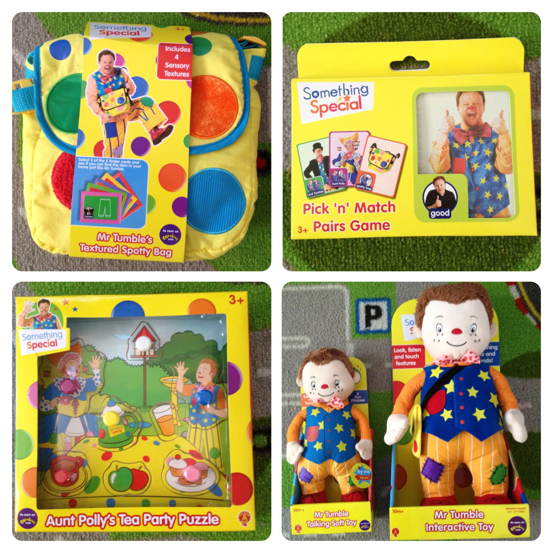 Our Mr Tumble SomethingSpecialParty Lilinha Angels World – Mr Tumble Birthday Card