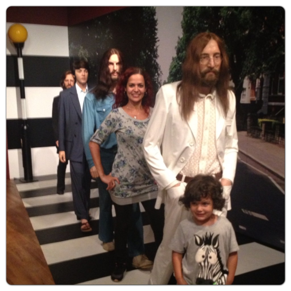 Beatles at Madame Tussauds