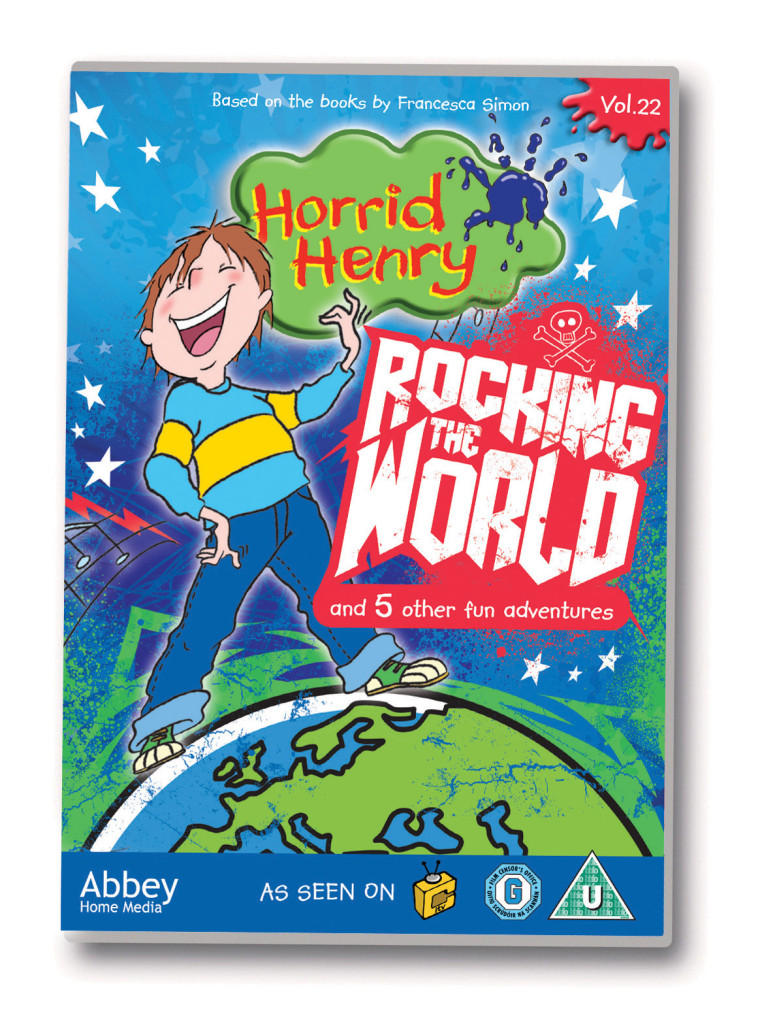 Horrid Henry Rocking the World RGB