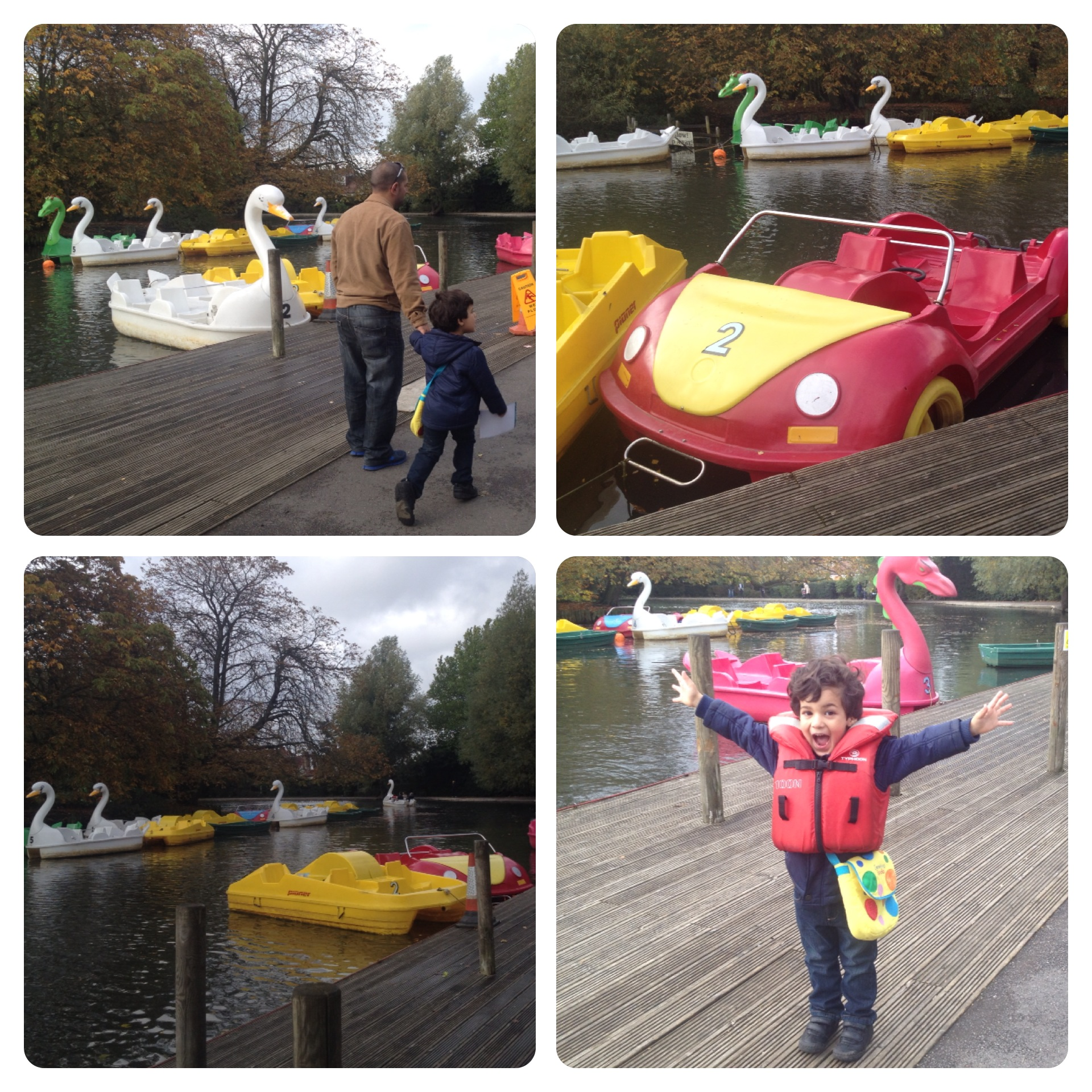 Woo Hoo! We Found Pedal Boats