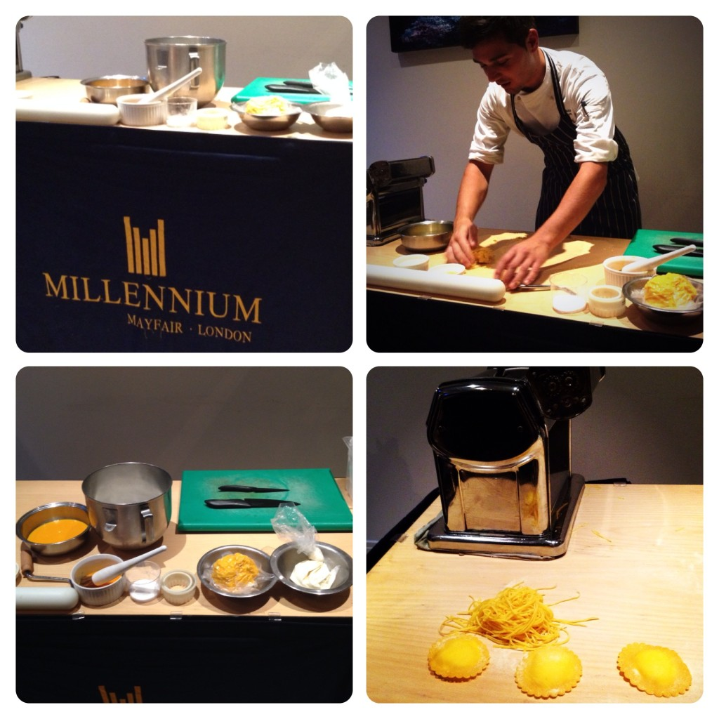 Pasta Workshop at Millennium Hotels