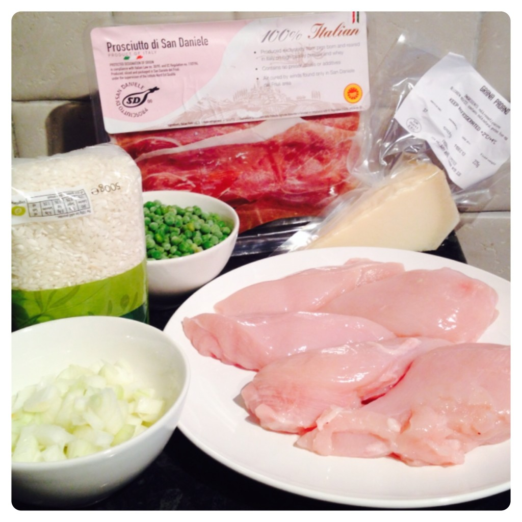 PDO Cookery Challenge Ingredients