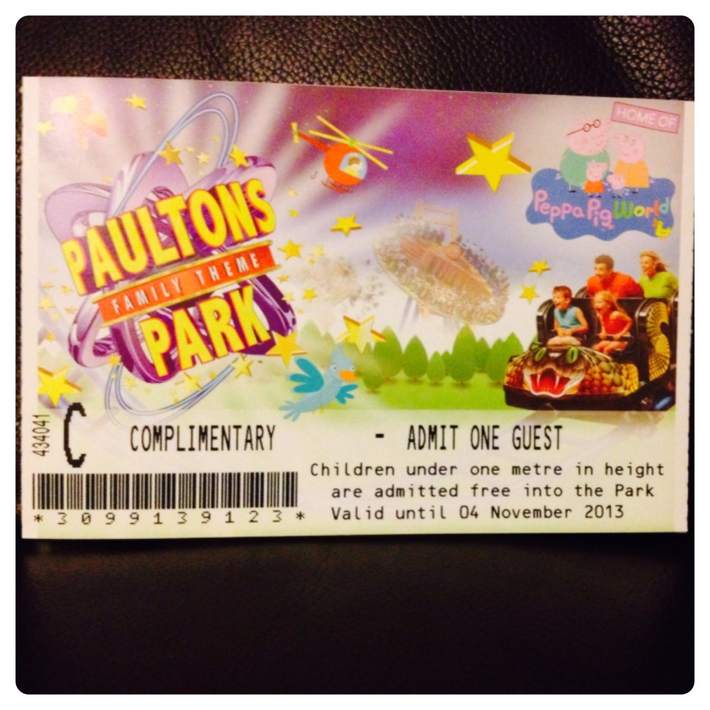 Peppa Pig World Tickets