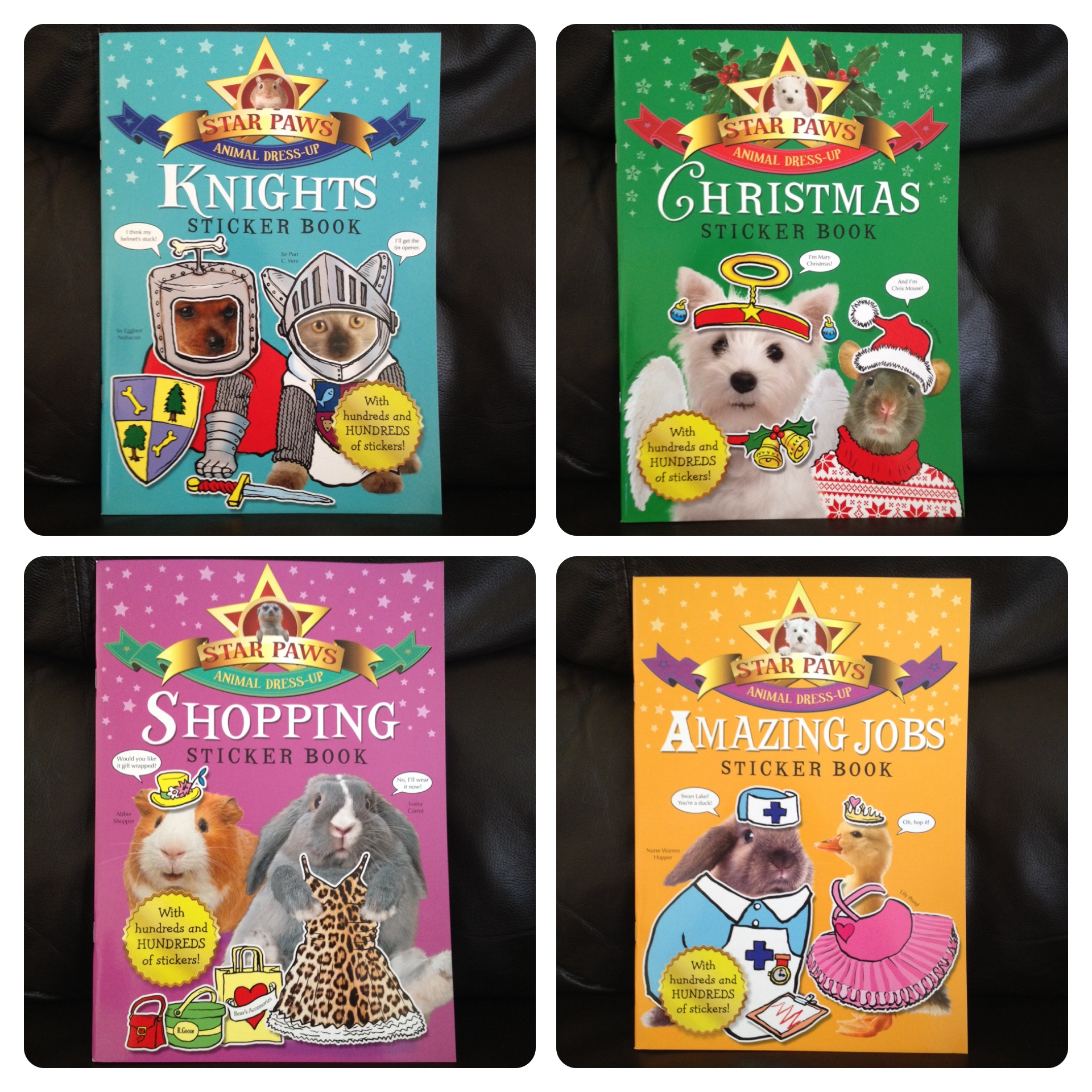 Star Paws Knights, Christmas, Shopping and Amazing Jobs