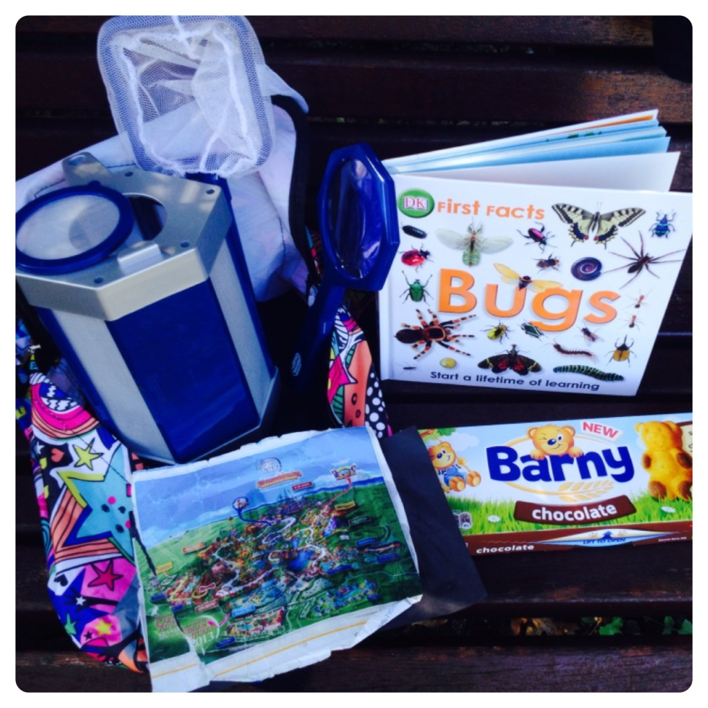 Ready for Little Adventure: Bug Kit, Guide, Map and Barny