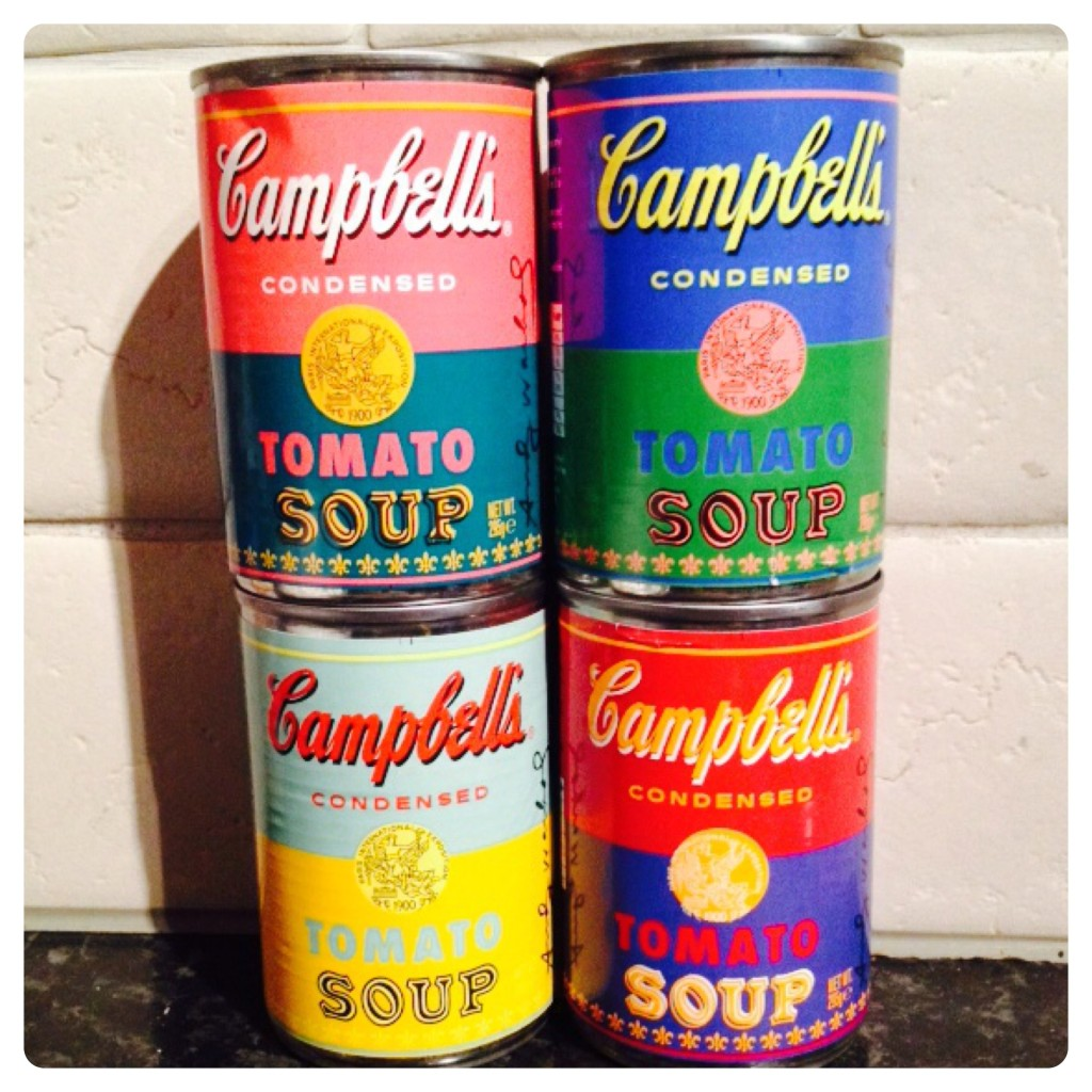 Andy Warhol Inspired Limited Edition Campbell's Soup
