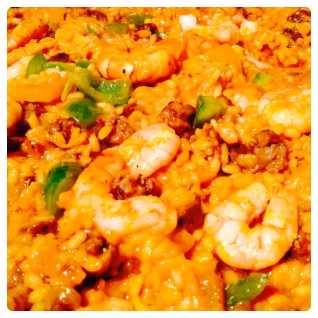 Paella Made With Campbell's Tomato Soup