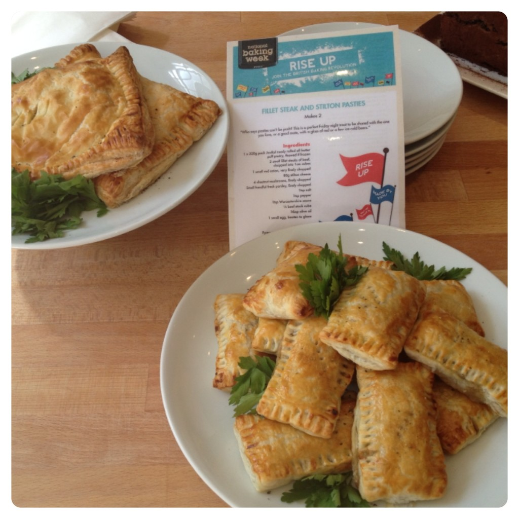 Fillet Steak and Stilton Pasties Recipe #NationalBakingWeek | Lilinha ...