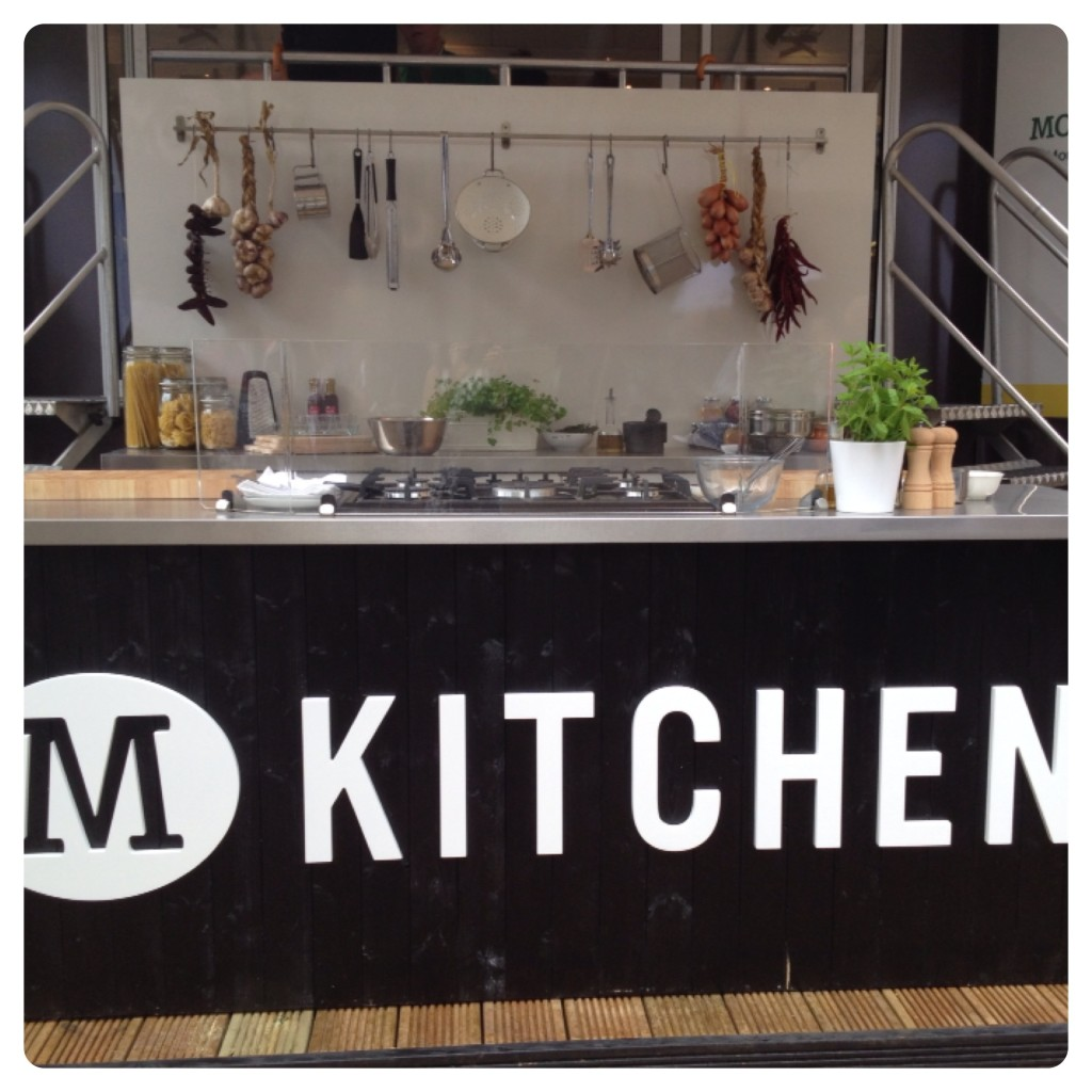 M Kitchen Cookery Bus