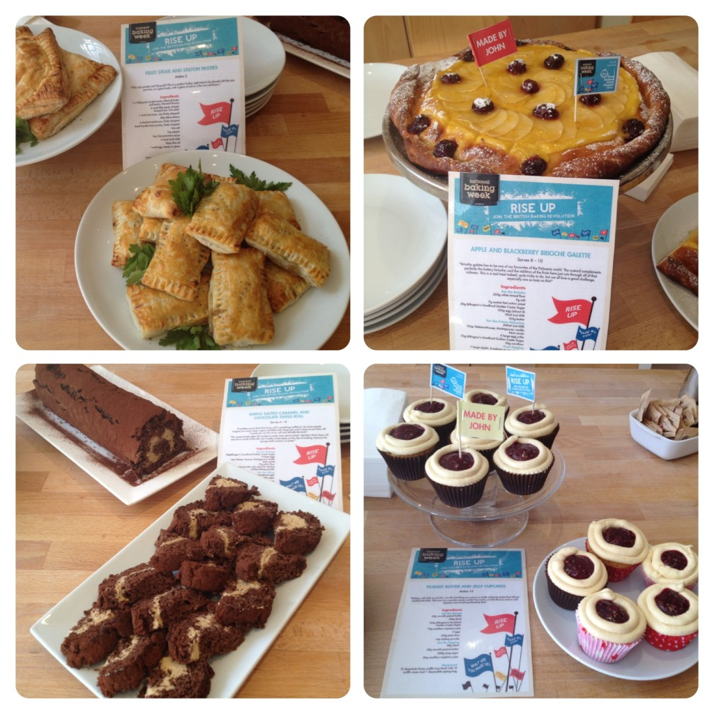 John Whaite Creations for National Baking Week