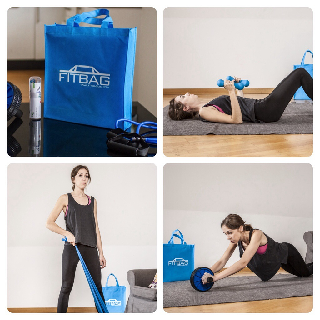 Exercising with Fitbag Package