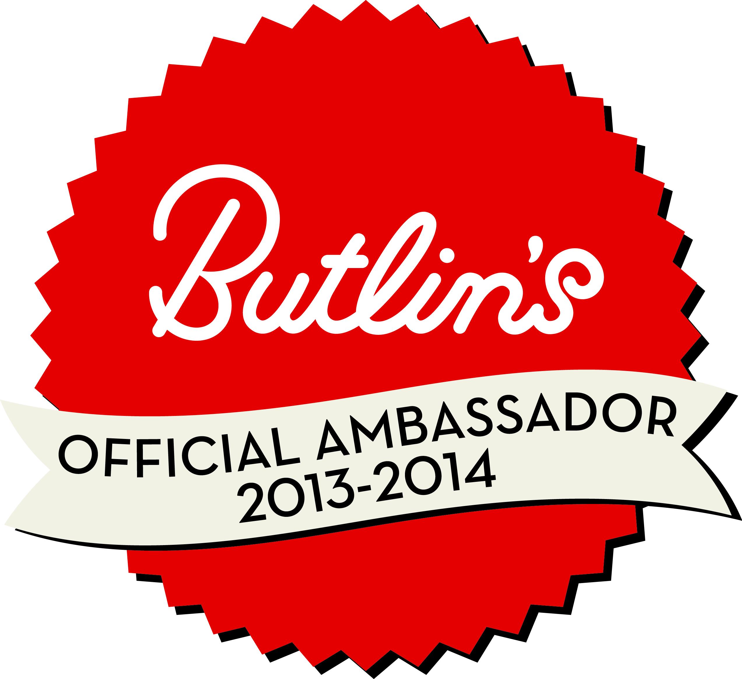 Butlins Ambassador 2013-2014