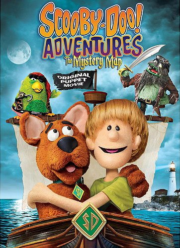 Scooby-Doo! Adventures: The Mystery Map DVD