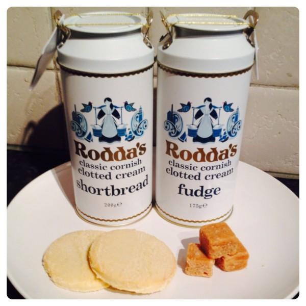 Rodda's Classic Cornish Clotted Cream Shortbread and Fudge