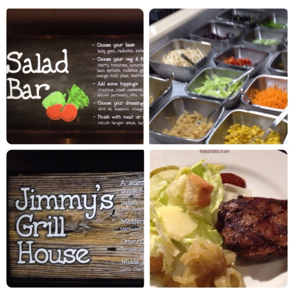 Salad Bar and Jimmy's Grill House