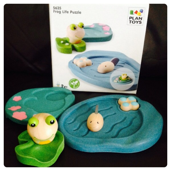 Frog Life Puzzle by Plan