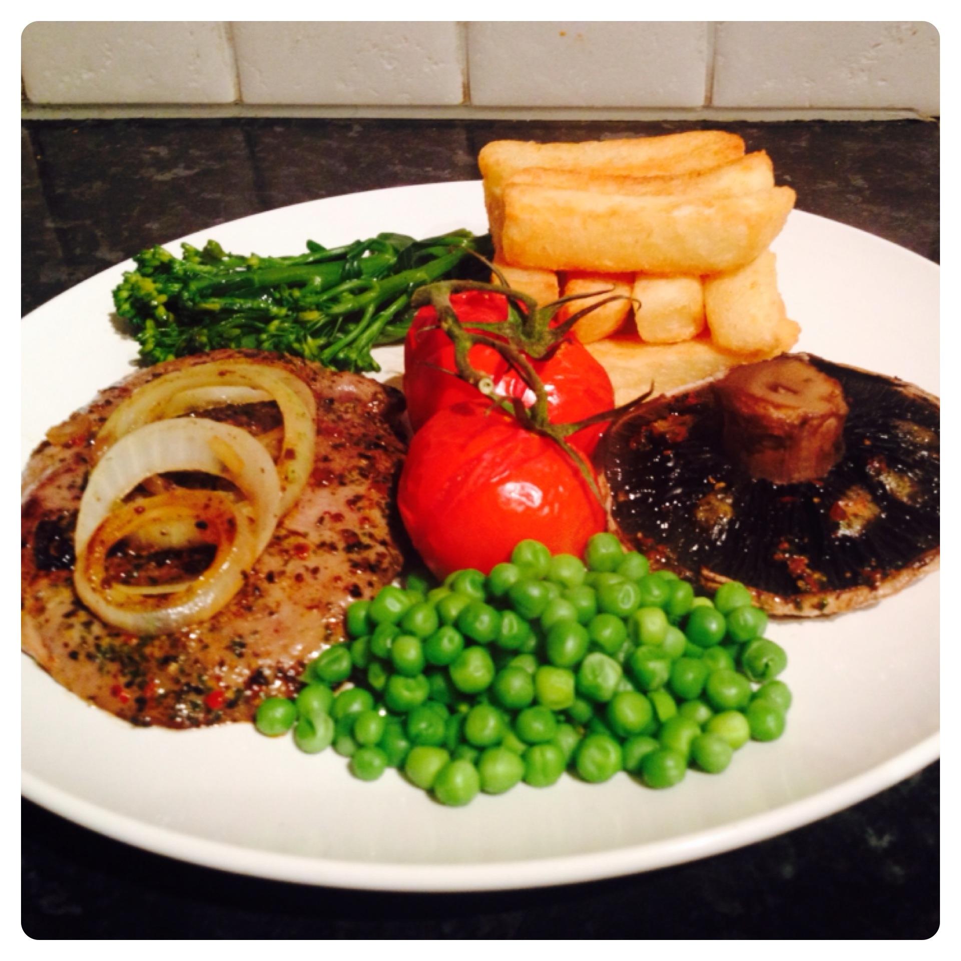 Steak & Chips from Tesco finest* New Range