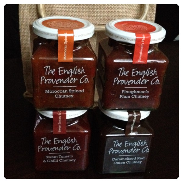 The English Provender Co. Christmas Chutney Gift Set