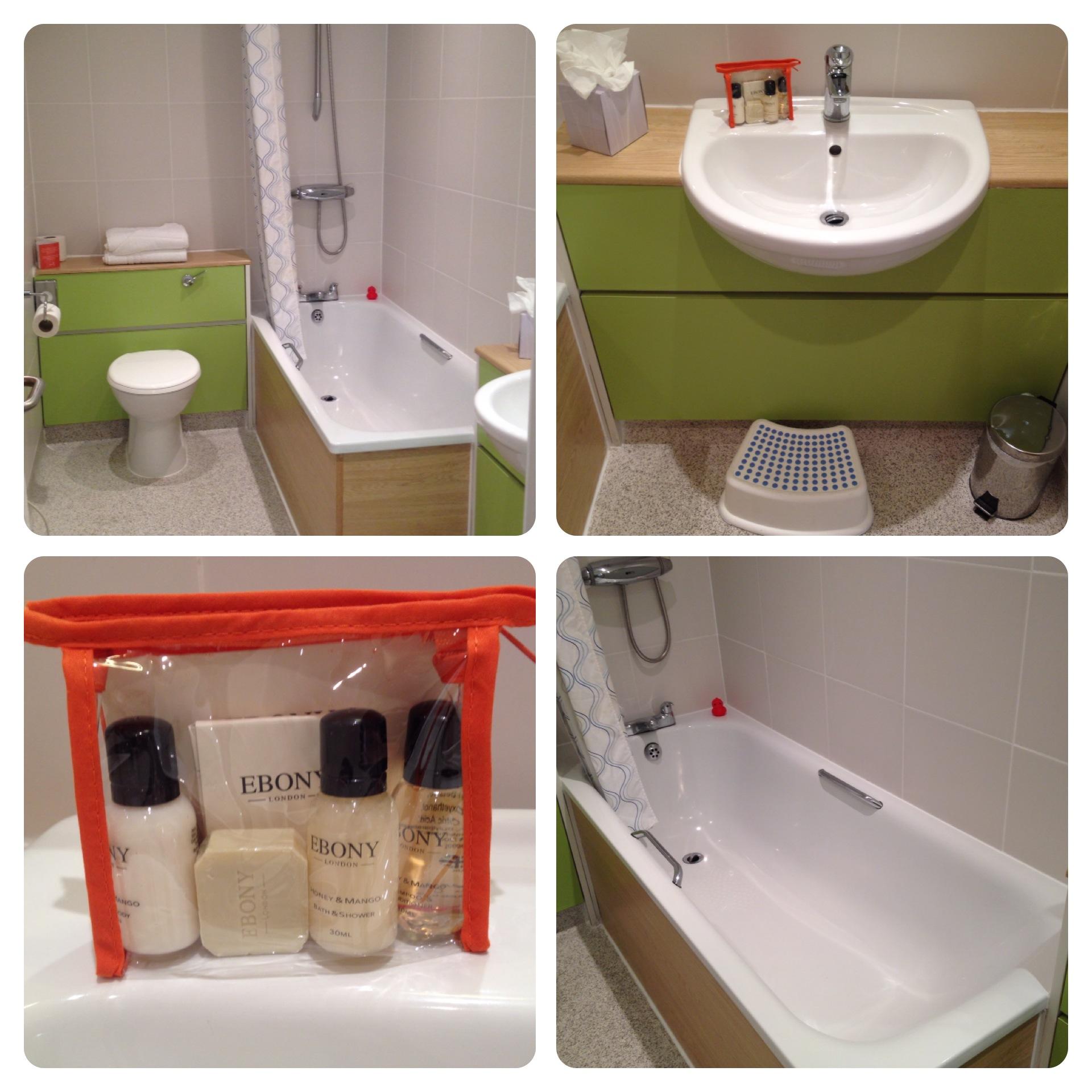 Bathroom at the Shoreline Hotel