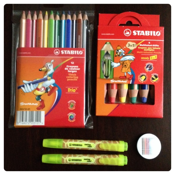 Stabilo Pencils and Highlighters