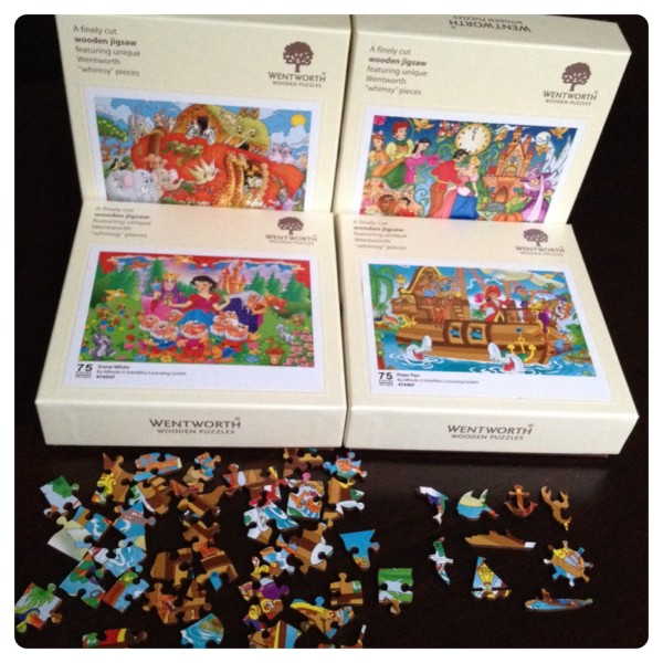 Christmas Gift Pack by Wentworth Wooden Puzzles