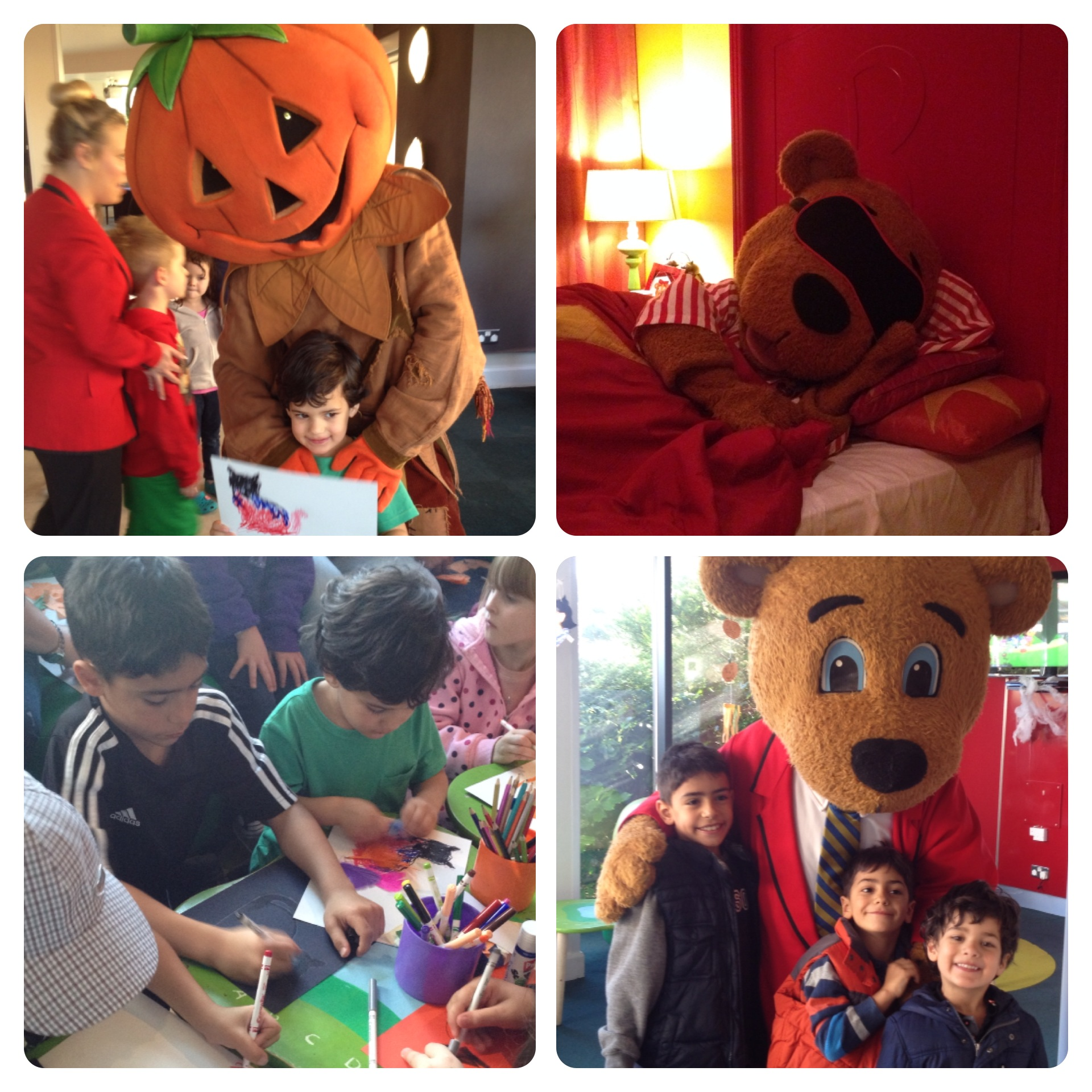 Character Activities at Shoreline Hotel