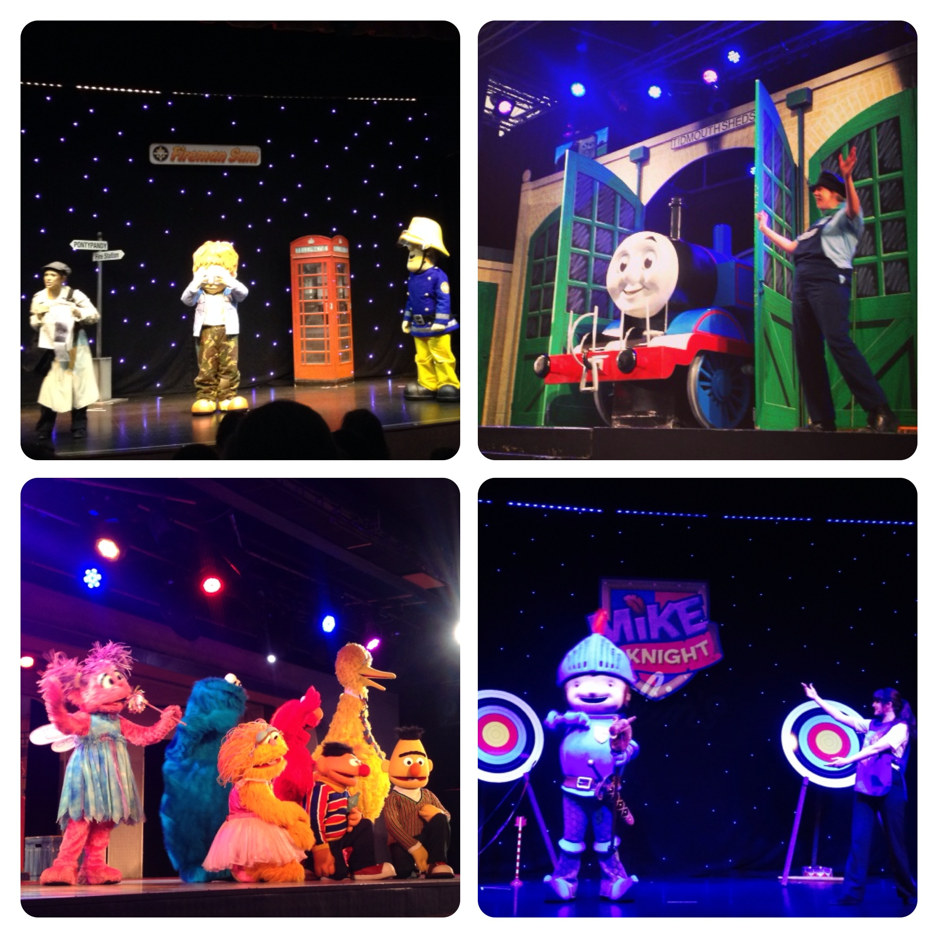 Live Shows and Characters at Butlins