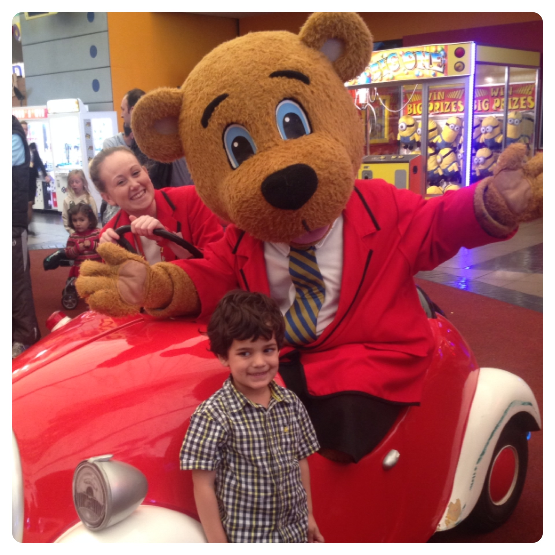 Billy the Bear at Butlins