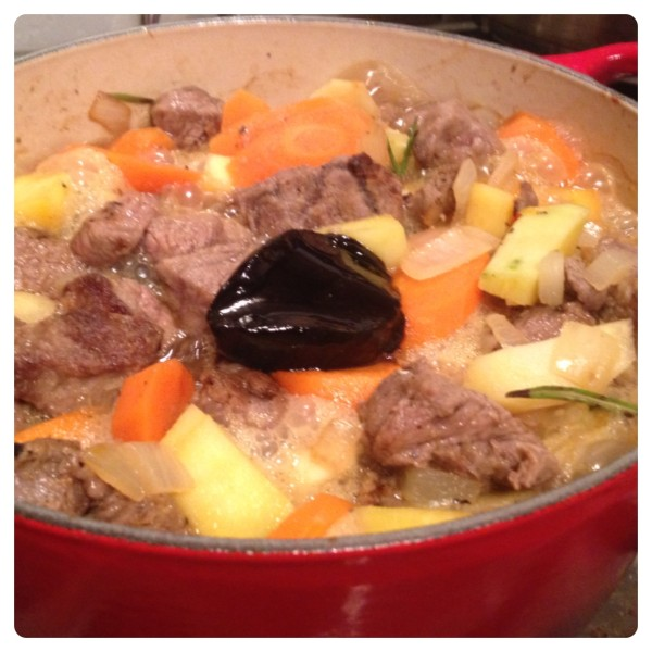 Beef Casserole with Rich Beef Stock Pot