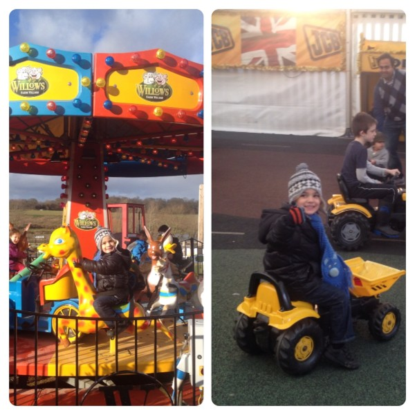 Festive Fun Fair Rides and JCB Young Drivers Zone