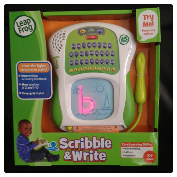 LeapFrog's Scribble and Write
