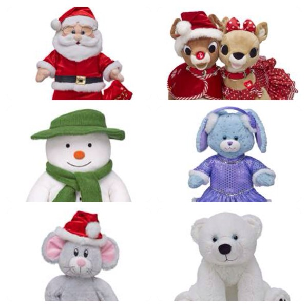 Build-A-Bear Festive Collection