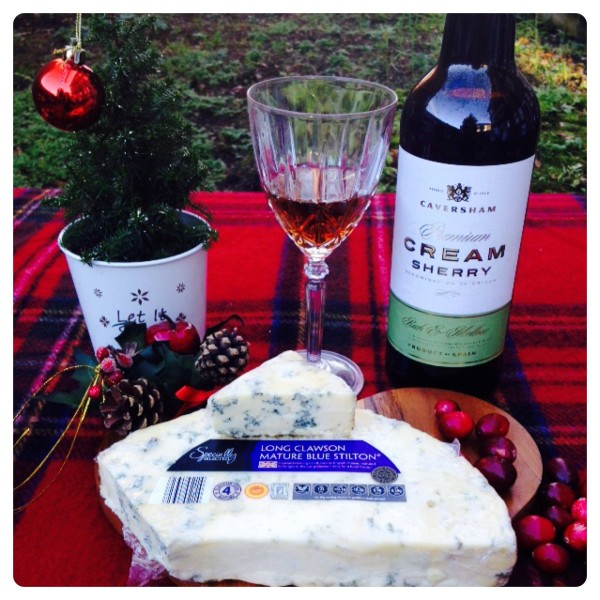 Caversham Cream Sherry with Specially Selected Half Moon Stilton