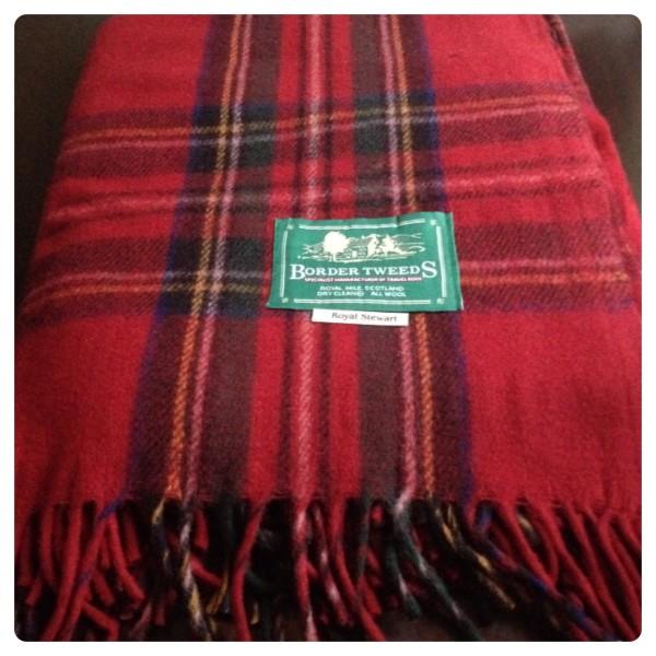 Royal Stewart Tartan Blanket Rug