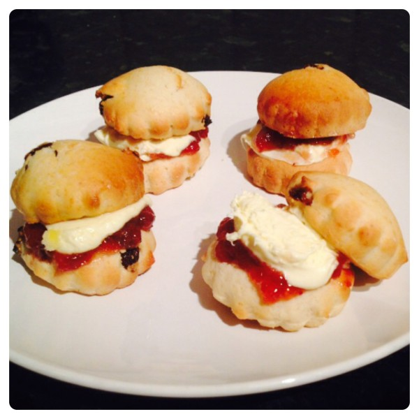 Cornish Scones for a Perfect Cream Tea